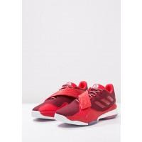 Adidas BOOST ROSE ENGLEWOOD Zapatillas de baloncesto rojo/blanco_002