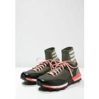 Adidas ADIZERO XT BOOST Zapatillas trail verde/ Marrón claro/solar rojo_006
