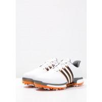 zapatos de golf adidas Golf TOUR360 BOOST WD blanco/negero/naranja_008