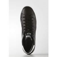 Adidas zapatillas Originals STAN SMITH altas negero/negero/blanco _063