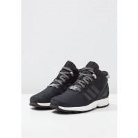 Adidas Originals zapatillas ZX FLUX 5/8 altas negero/gris/vintage blanco_070
