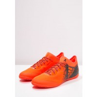 AdidasX Zapatillas 16.3 COURT solar rojo/negero_036