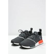 Adidas Originals zapatillas NMD_R1 gris/rojo_025