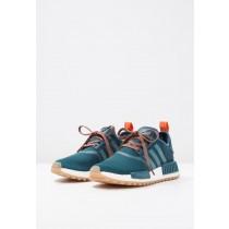 Adidas Originals zapatillas NMD_R1 verde/naranja_006