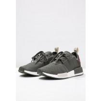 Adidas Originals zapatillas NMD_R1 verde/marrón_010