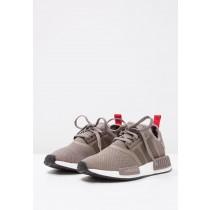 Adidas Originals zapatillas NMD_R1 marrón/blanco_013