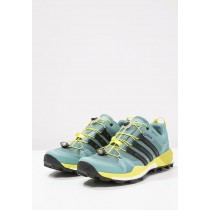 zapatos de senderismo adidas Performance TERREX BOOST GTX negero/verde_001