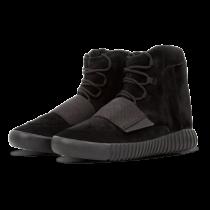 Adidas Yeezy Boost zapatillas 750 Unisex Triple negero _058