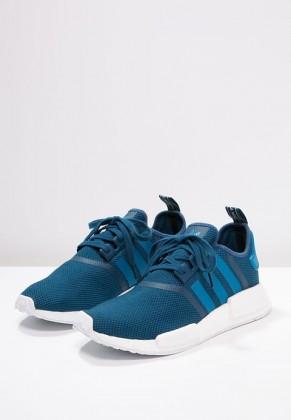 Adidas Originals zapatillas NMD_R1 azul/blanco_018