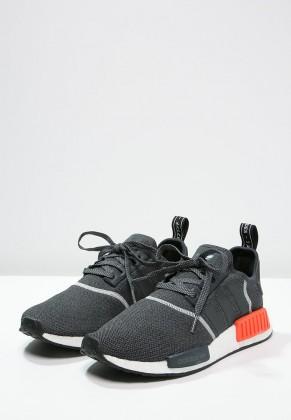 Adidas Originals zapatillas NMD_R1 gris/semi solar rojo_011