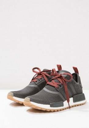 Adidas Originals zapatillas NMD_R1 negero/rojo_012