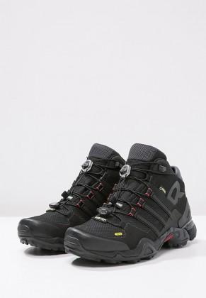 Adidas Botas de senderismo TERREX FAST R GTX negero/gris/power rojo_017