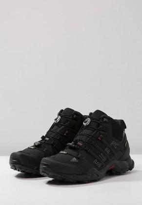 Adidas Botas de senderismo TERREX SWIFT R MID GTX negero/gris/power rojo_033