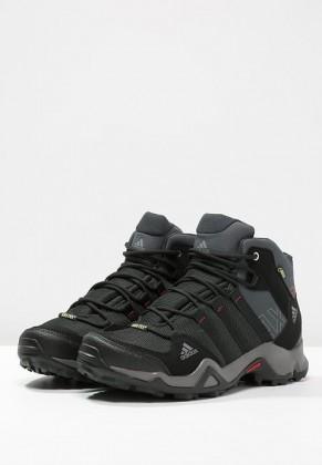 Adidas AX2 MID GTX Botas de senderismo gris/negero/scarlet_042